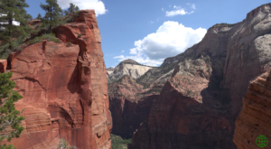 Angel's Landing In Utah's Zion National Park Really Is Like Hiking In Heaven