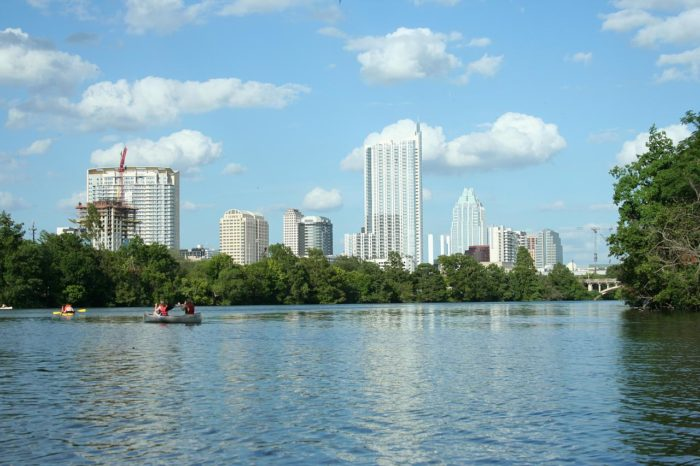 6. Kayak across Lady Bird Lake.