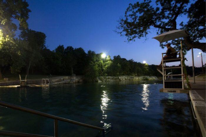 7. Howled at the full moon at Barton Springs Pool
