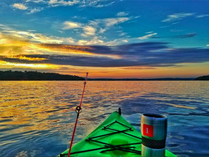 Badin Lake Sunrise