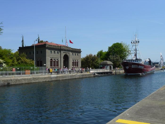 1.  The Ballard Locks