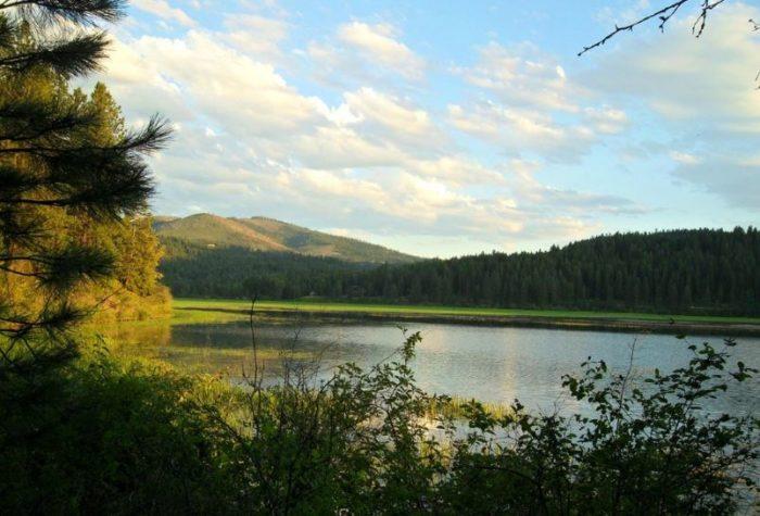 5. Benewah Lake, Plummer