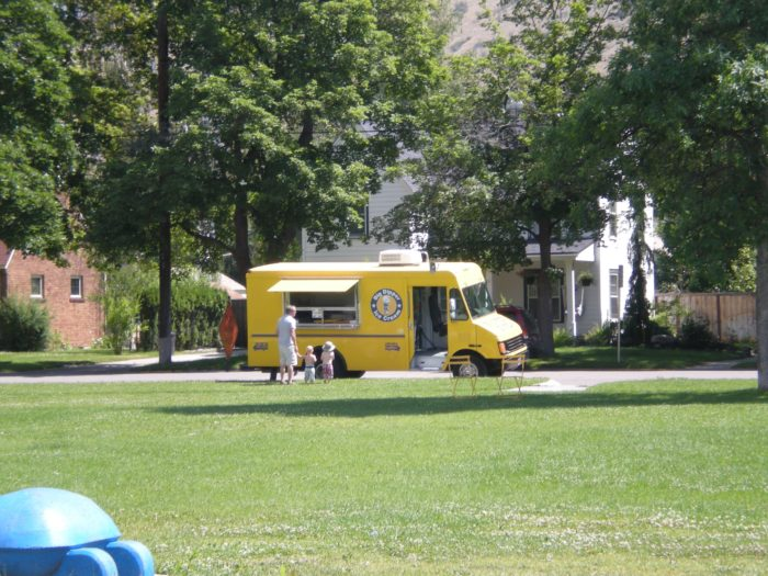 8. Everyone in Missoula's favorite sight on a hot summer day: The Big Dipper ice cream truck.
