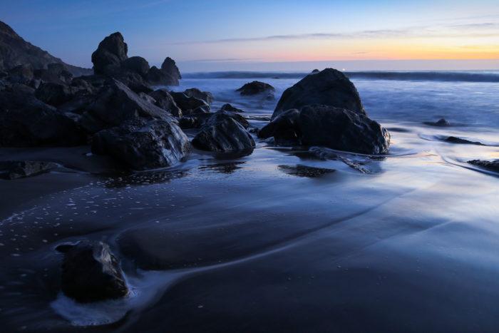 Blue Hour at Muir Beach-12163809344