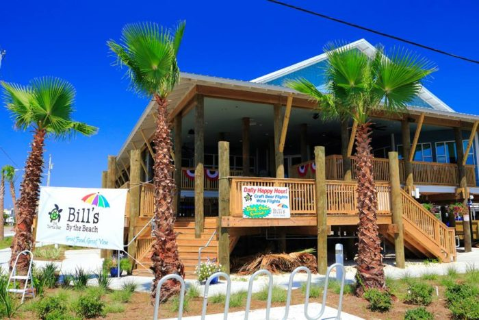 5. Bill's By the Beach - Gulf Shores