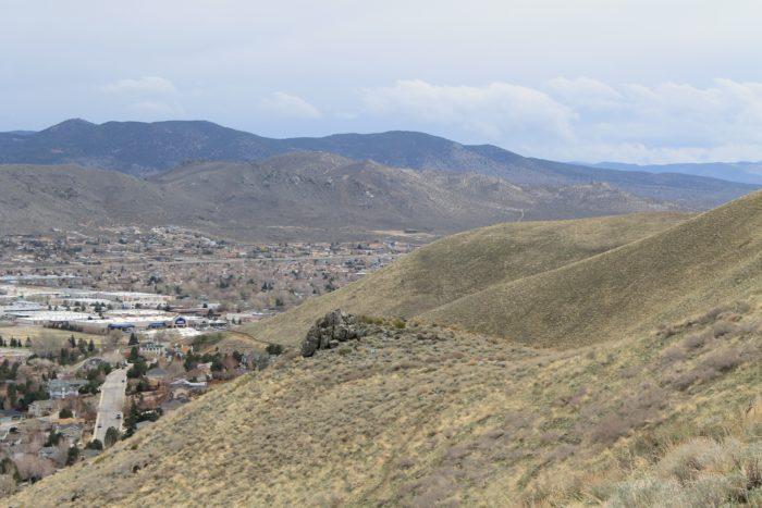 6. C Hill Loop Trail – Carson City