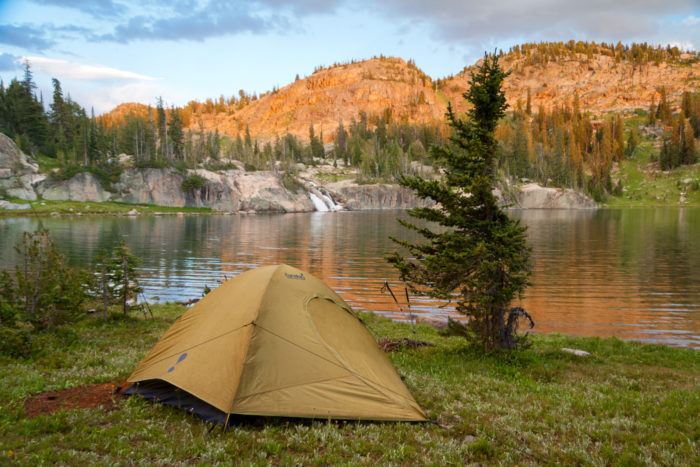 9.  Go camping at… well, pretty much anywhere.
