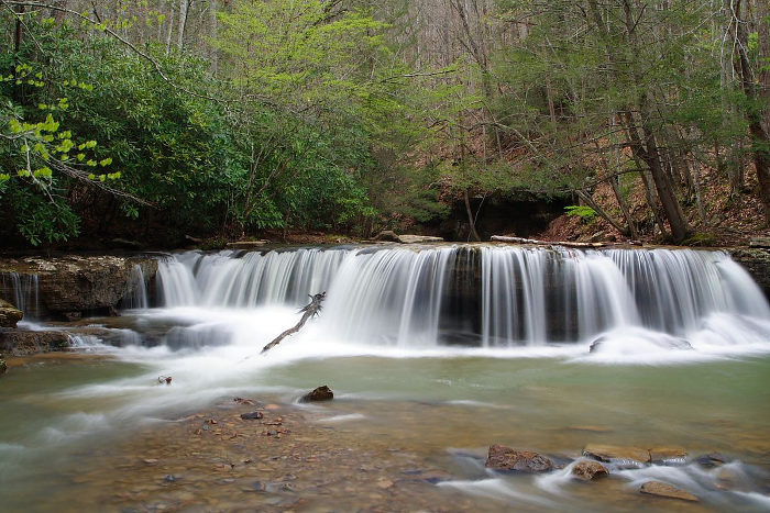 Camp Creek Wv >> Camp Creek State Park In WV Has Two Magical Waterfalls