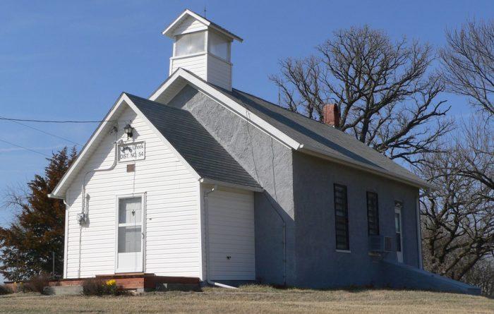 7. Camp Creek School, Otoe County