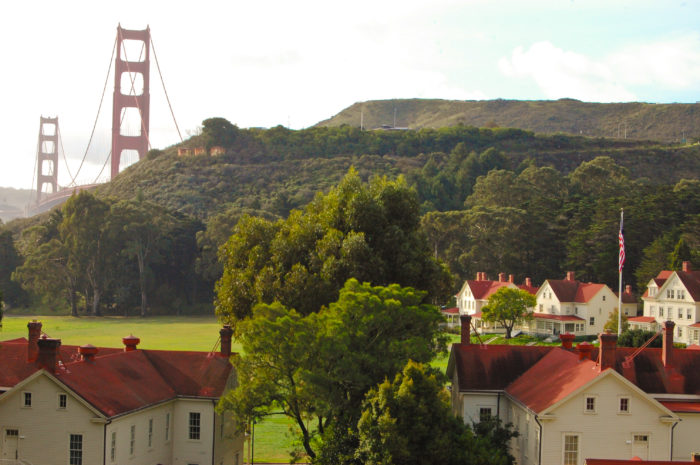 Explore the grounds of Cavallo Point, a former U.S. Army post turned luxury hotel. Then, indulge in a massage, get an herbal or nutrition consultation, or alleviate stress through energy healing at the Healing Arts Center & Spa.