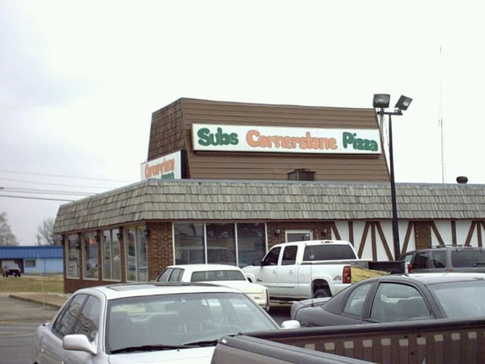 2. Cornerstone Subs and Pizza - Lebanon