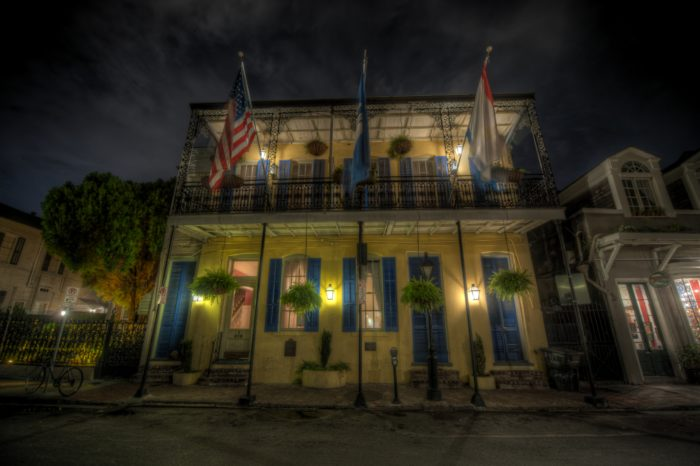 The ghost hunt took place on the night of July 6th, when a group of intrepid ghost hunters took rooms in the Andrew Jackson Hotel.