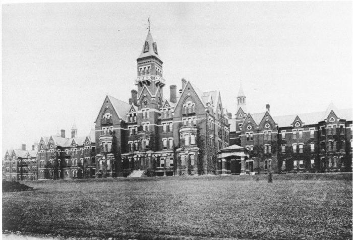 7. Danvers State Mental Hospital