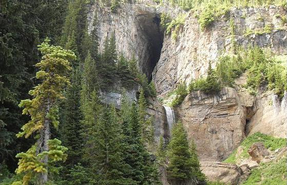 5. Hike to the Darby Wind Cave on the Idaho-Wyoming border.