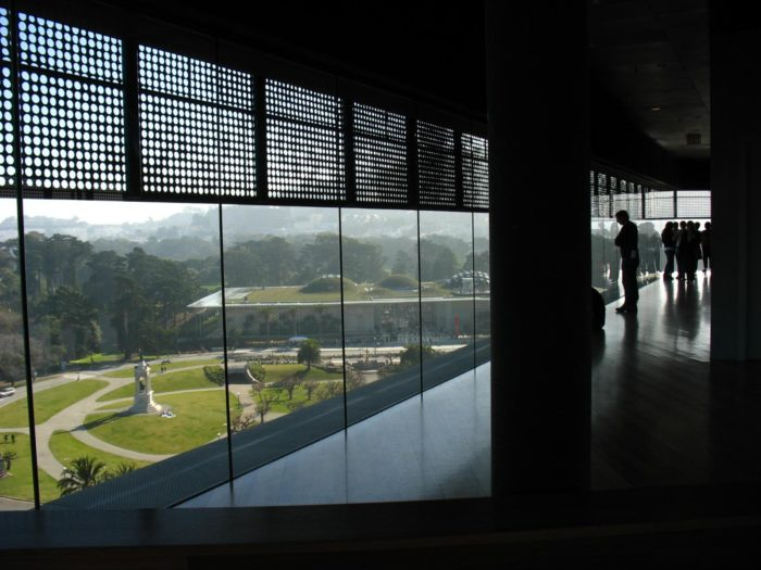 3. Get inspired at the de Young Museum.
