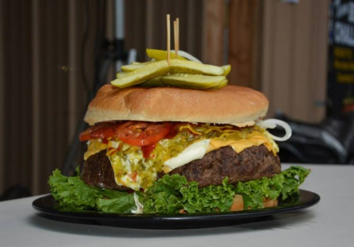 9. Denny's Beer Barrel Pub (Clearfield) - Burger Challenge