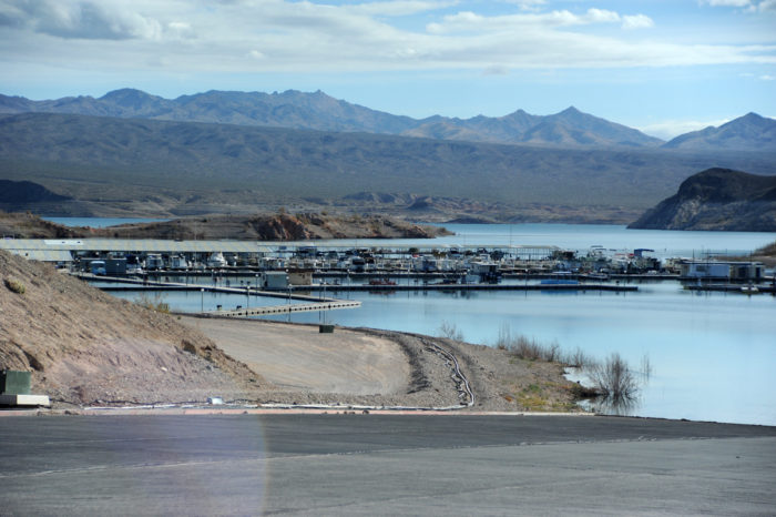 Echo Bay Marina just a month prior to closure: