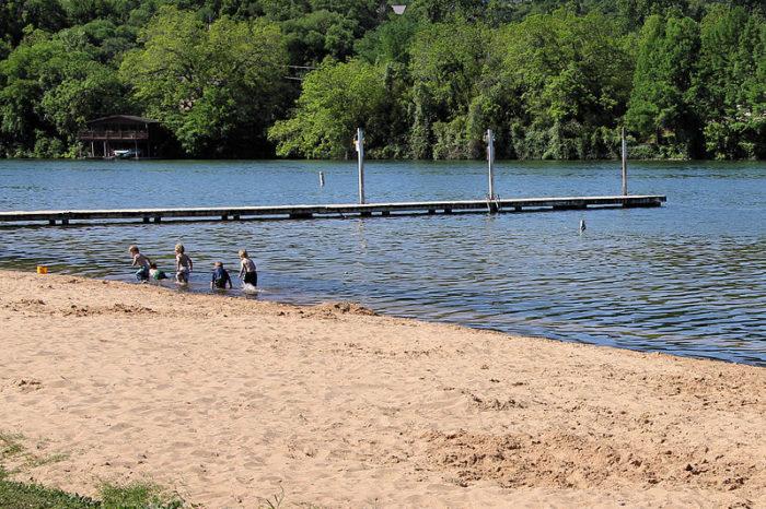 Build a sandcastle and make a splash!