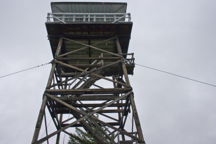10. Spend the night at an old forest fire lookout.