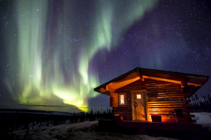13. The Aurora Borealis provides us with the best natural night-light in the world.