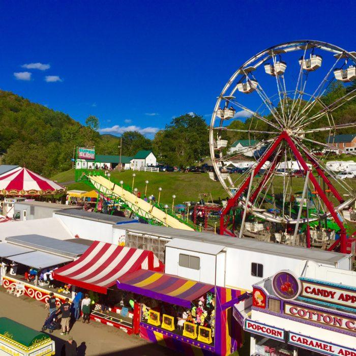 9.  Spend a day at the Tunbridge World's Fair.