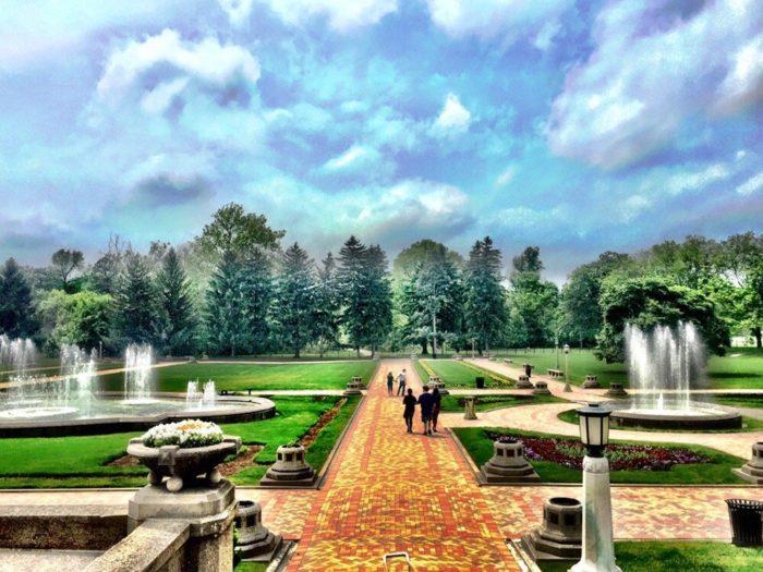 4. Garfield Park Conservatory and Sunken Gardens - Indianapolis