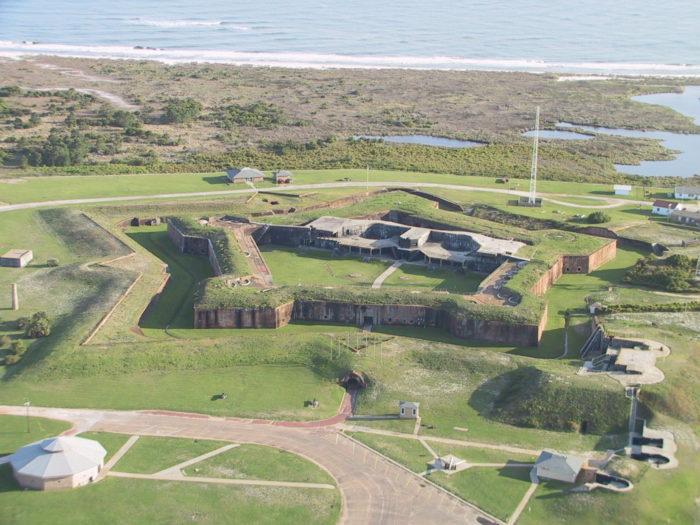 3. Fort Morgan - Gulf Shores