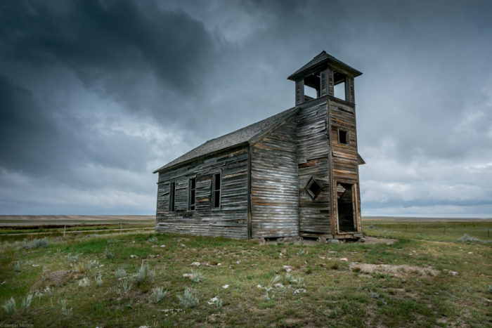 2. Check out this old schoolhouse in Prairie County.