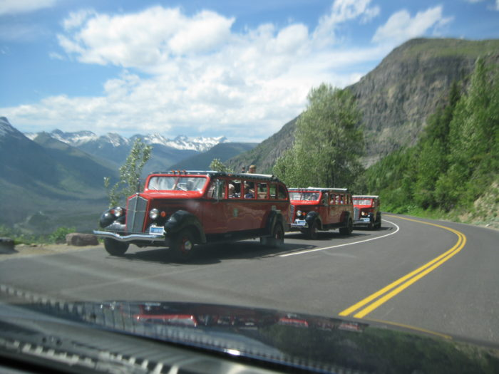 10. Summer means Going-to-the-Sun Road is open for driving.