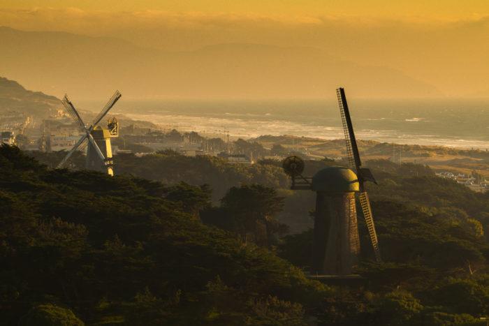 1. Gawk at the windmills.
