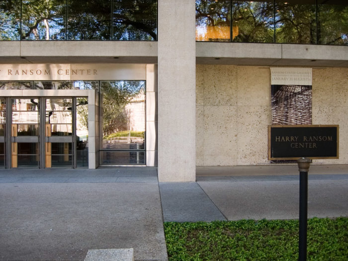 This mecca for art, photography, and literature sits at the University of Texas Campus.