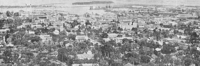 1. Honolulu as photographed in the 1930s.