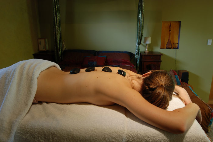 After breakfast, head to the spa at the nearby Snowshoe Resort.