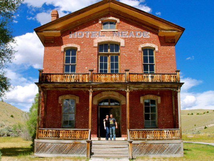 8. Hotel Meade, Bannack State Park