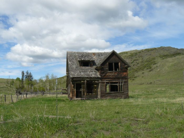 4. You'll find the remains of this old house in Molson in Okanogan County.