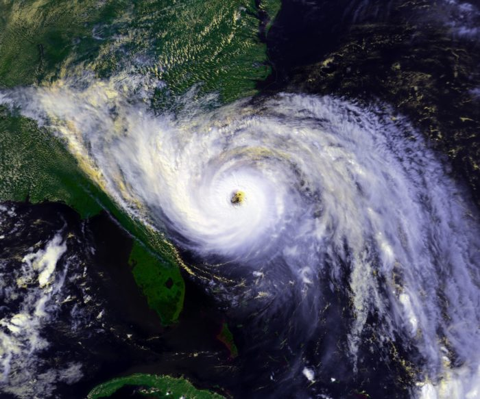 7. South Carolina Coast  - Sept 21, 1989. A Category 5 hurricane slams into the coast of South Carolina.