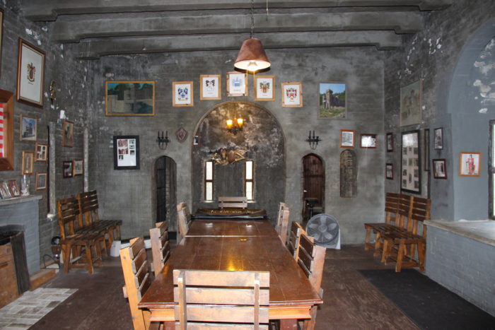 Today, the castle is operated and maintained by members of the Knights of the Golden Trail.
