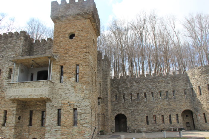 This lovely little medieval structure was built by hand--brick by brick--by one man, Sir Harry Andrews. Today it is open for the public to view for $5 a person and $3 per children.