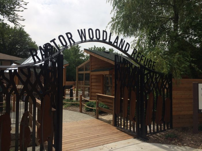 The Raptor Woodland Refuge is a brand new part of the Fontenelle Forest Nature Center.