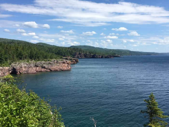 If you've ever walked out to Shovel Point at Tettegouche you'll know the views are incredible.