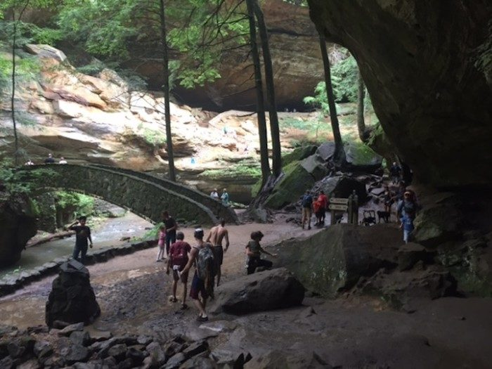 1. Old Man's Cave Loop (Hocking Hills State Park)
