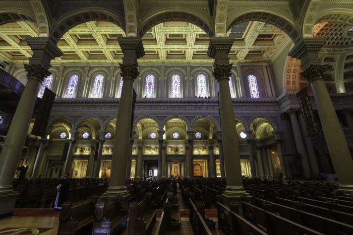 Inside St Ignatius' Church-26340503901