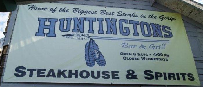 10. Huntington's Steakhouse, Klickitat