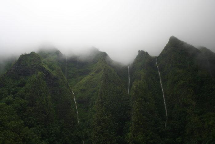 8. Ko'olau Mountain Range Falls