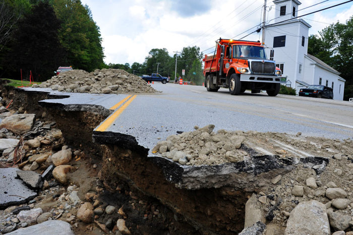 Additional damage on Route 4 / Route 100.