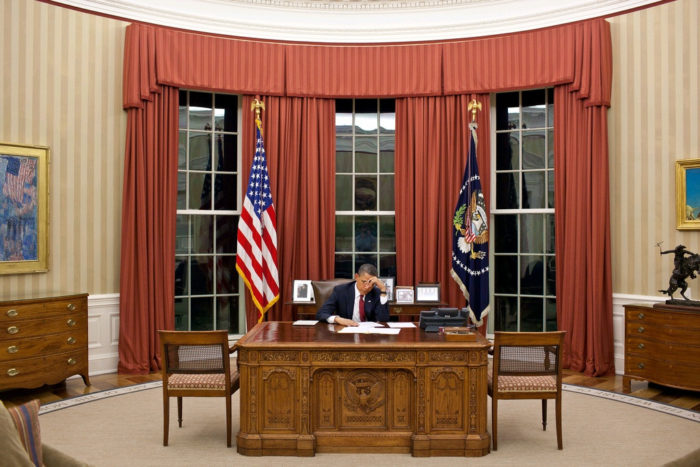 Oval Office at the White House - Washington D.C.