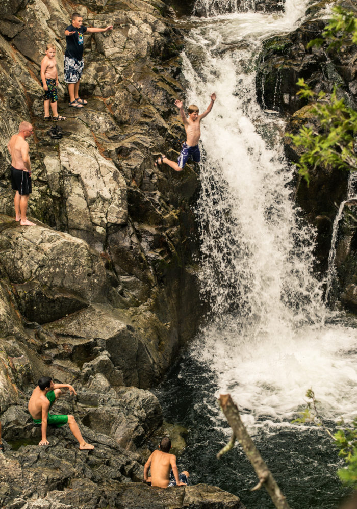 While the falls have become a popular cliff Jumping spot over the years, it's important to remember how dangerous these waters can be.