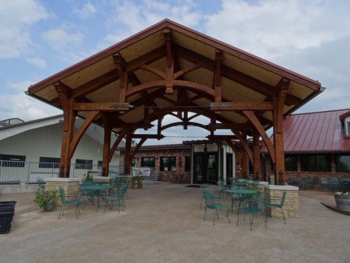 5. Les Bourgeois Vineyards and Blufftop Bistro - Rocheport
