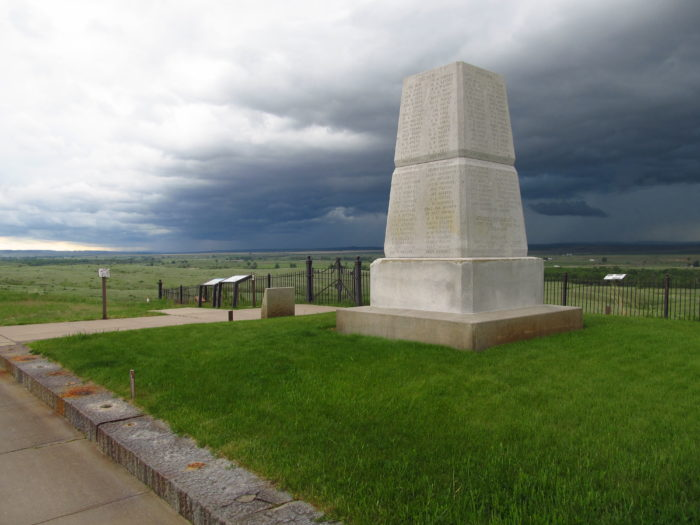 5. Eastern Montana also has the Little Bighorn Battlefield National Monument…