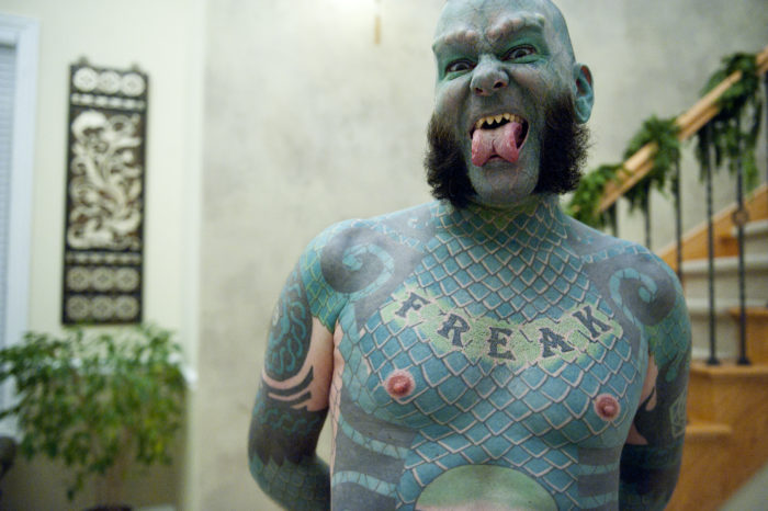 8. Encountered the Lizardman or any other equally quirky Austinite